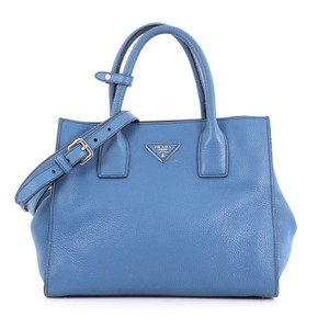 Prada Shopping Tote in blue