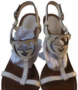 Gucci **reduced 9/16** Mystic White Wedges