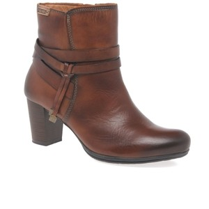 PIKOLINOS Blogger Brown Belted Bootie Boots