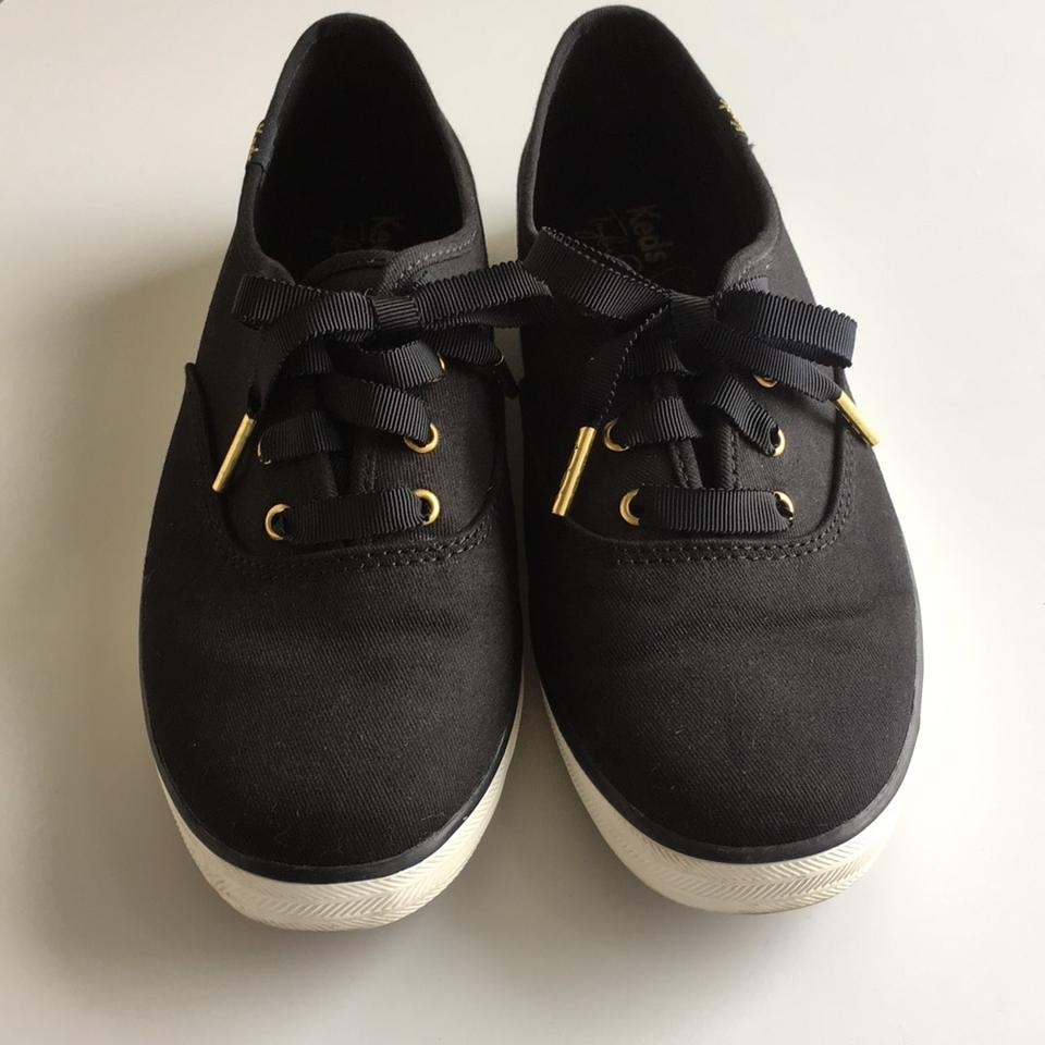 1212a220e92b4 Keds Black Limited Edition Taylor Swift Sneaky Cat Champion Sneakers Size  US 7.5 Regular (M