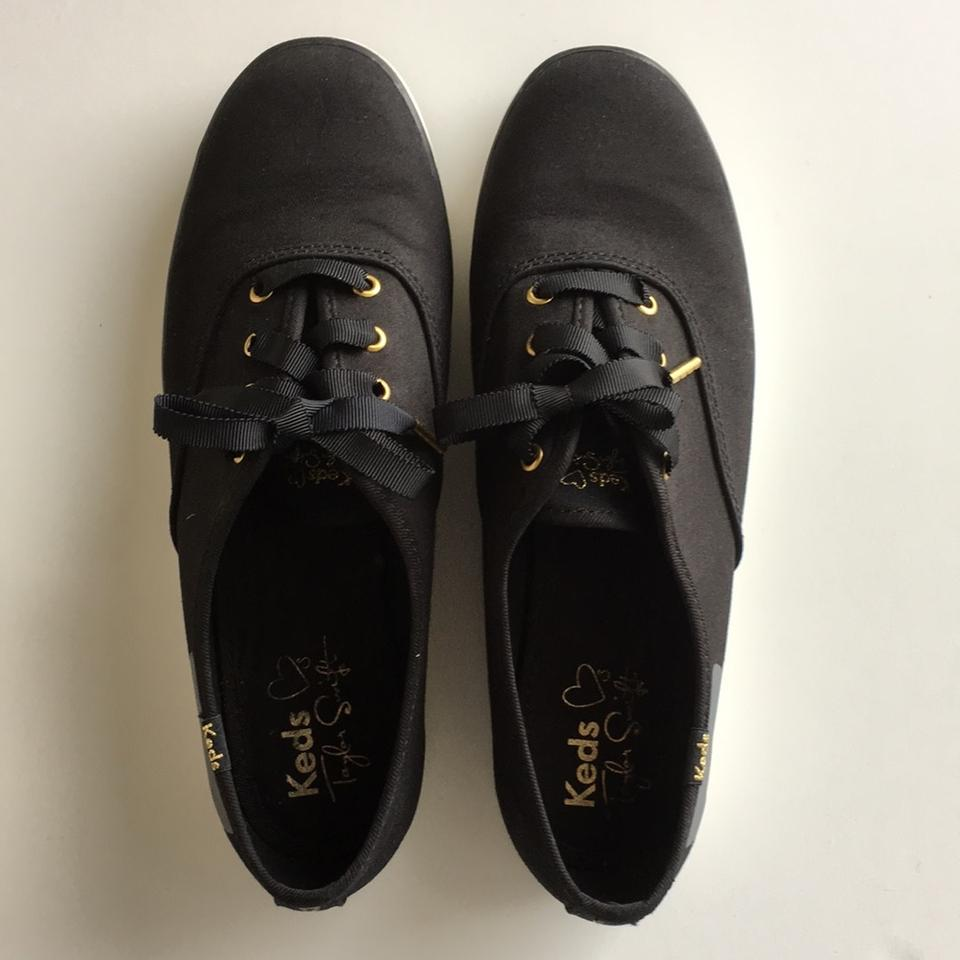 1ed36159947e8 Keds Taylor Swift Cat Sneakers Sneaky Cat Grey Cat Black Athletic Image 11.  123456789101112
