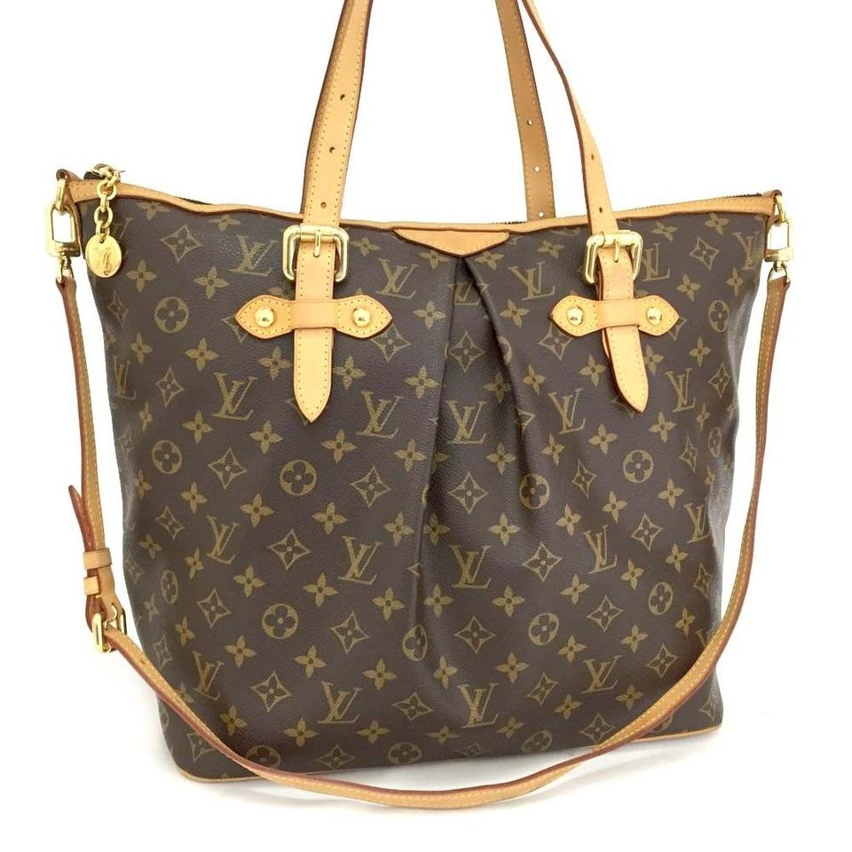 520ccfb28231 Louis Vuitton Lv Palermo Lv Gm Monogram Palermo Leather Monogram Tote in  Brown Image 0 ...