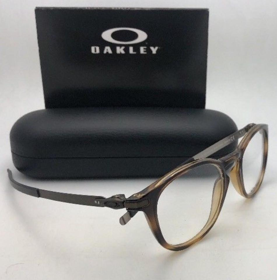 fc2584560e Oakley New OAKLEY Eyeglasses PITCHMAN R OX8105-0350 50-19 140 Brown Tortoise  Image. 123456789101112