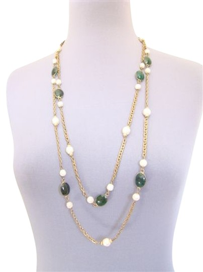 Preload https://item4.tradesy.com/images/chanel-chanel-emerald-cabachon-necklace-2392183-0-0.jpg?width=440&height=440