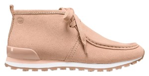 Tory Burch Sport Chukka Sneakers Suede Blush Athletic