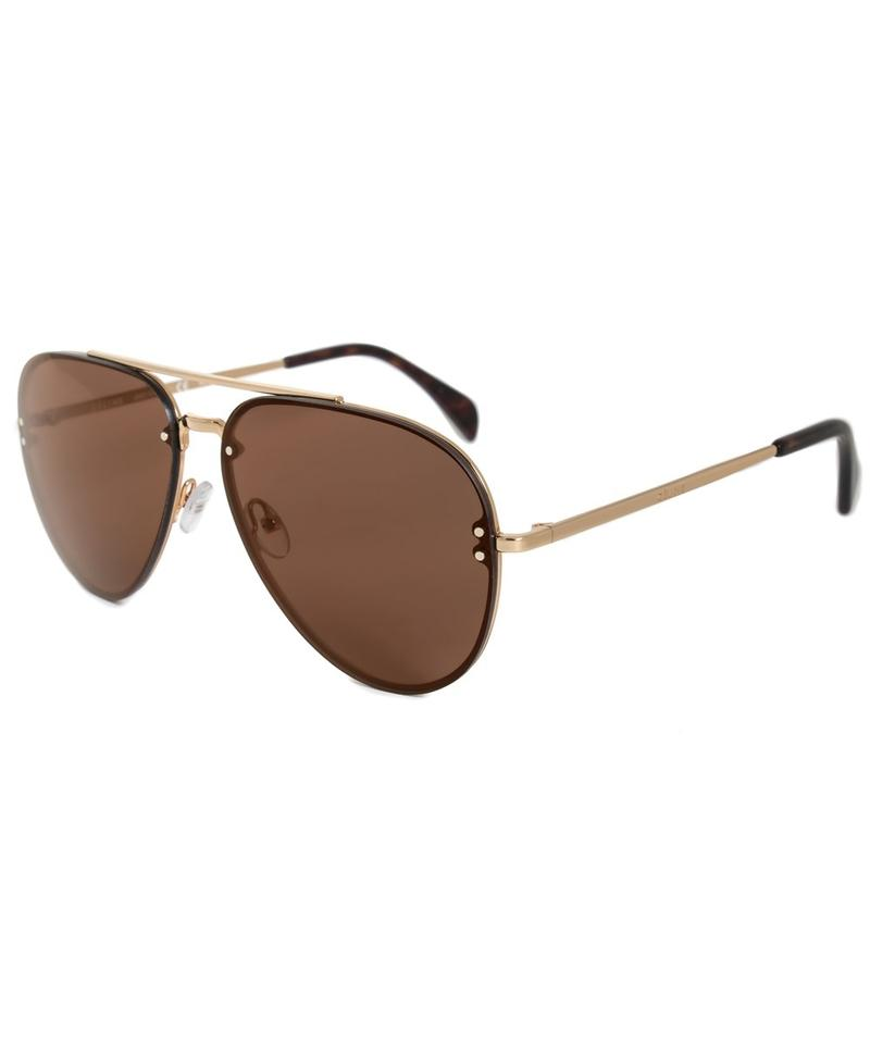 160c4d7374 Céline New Celine 41391 S 0J5G LC Gold (LC lens)   Brown Aviator ...