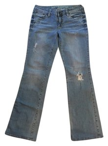 Bullhead Denim Co. Boot Cut Jeans-Distressed