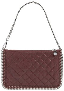 Stella McCartney Falabella Pouch Burgundy Clutch