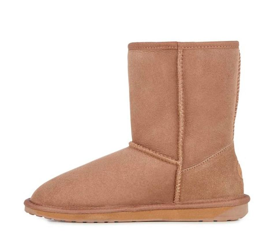EMU Stinger Tan Biege Australia Stinger EMU Lo Sheepskin Winter Boots/Booties be9b1f