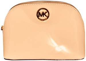 f4a14c572601 Michael Kors Soft Blush Pink-nude Make-up Cosmetic Bag - Tradesy