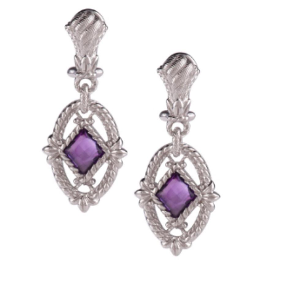 Judith Ripka Lotus Earrings