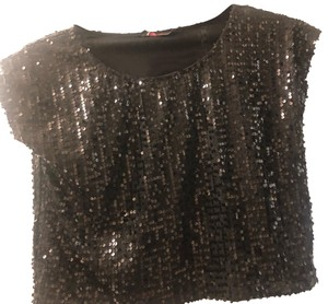 Motel Rocks Top black sequin