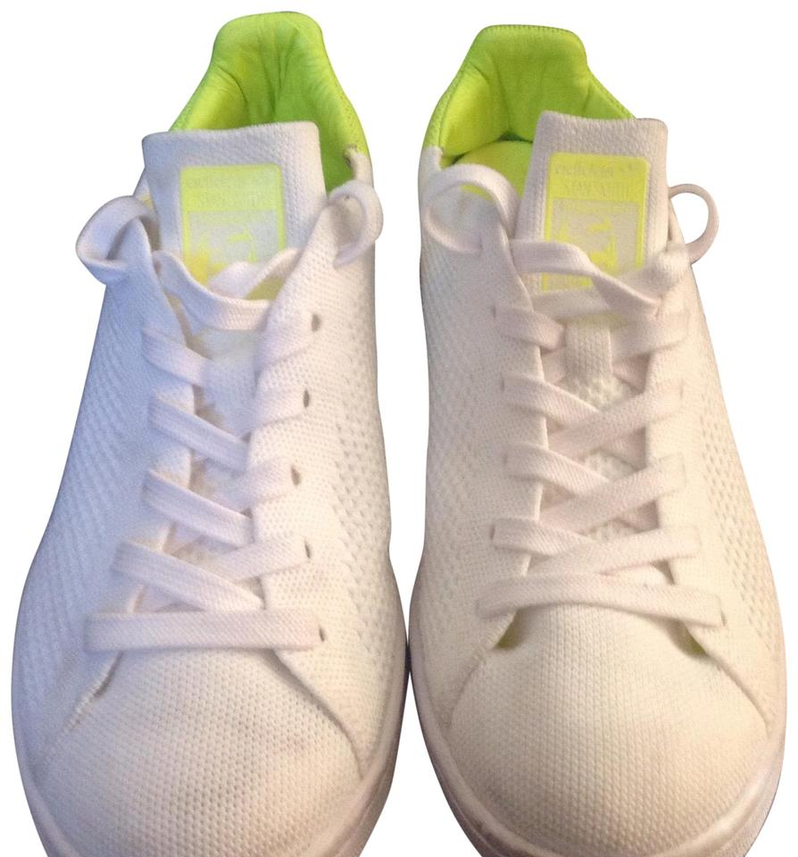 adidas White Neon Knit Neon White Sneakers Sneakers a6c9c9