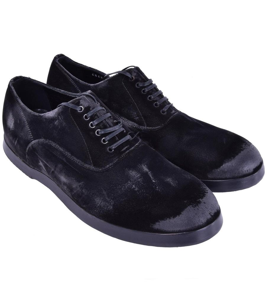 Dolce Gabbana Grey Formal Shoes Runway amp; Velour amp;Gabbana Dolce Aqg4ff