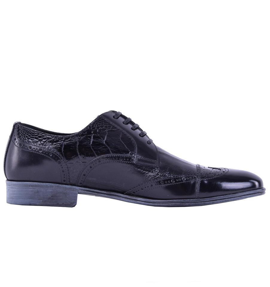Dolce Leather Gabbana Dolce amp;Gabbana amp; Business Patchwork Shoes Formal rwCqrOT