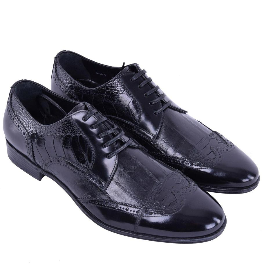 Leather Formal Patchwork Gabbana Dolce Shoes Dolce amp;Gabbana Business amp; qwPSSx