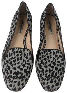 Karl Lagerfeld Loafers Animal Print Multi Color Flats