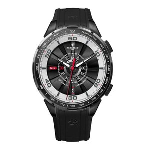 Perrelet Perrelet Men's Black/White Tourbine 47mm Automatic Watch 1075/1