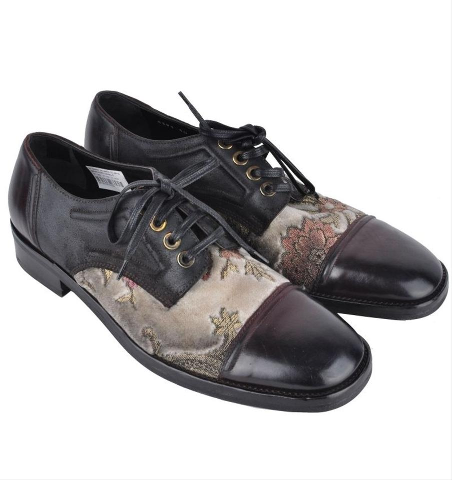 amp; Shoes Gabbana amp;Gabbana Formal Dolce Black Brown Baroque Dolce q1fFv