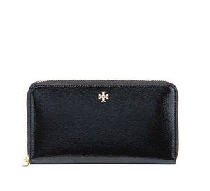 Tory Burch Tory Burch Robinson Patent Leather Zip-Around Continental Wallet