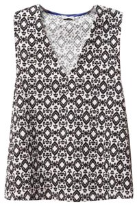 Anthropologie Swingy Silhouette Deep V Neck Cool Comfy Cotton Super High Quality Go To Piece Top Black White