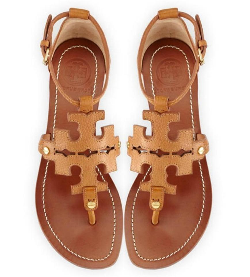 07db97f48796 Flat Tan Thong Sandals
