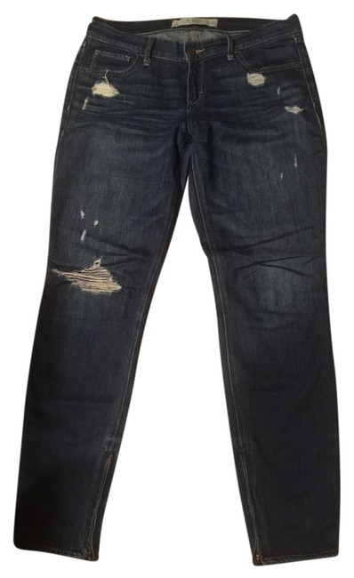 Item - Denim Distressed Relaxed Fit Jeans Size 29 (6, M)