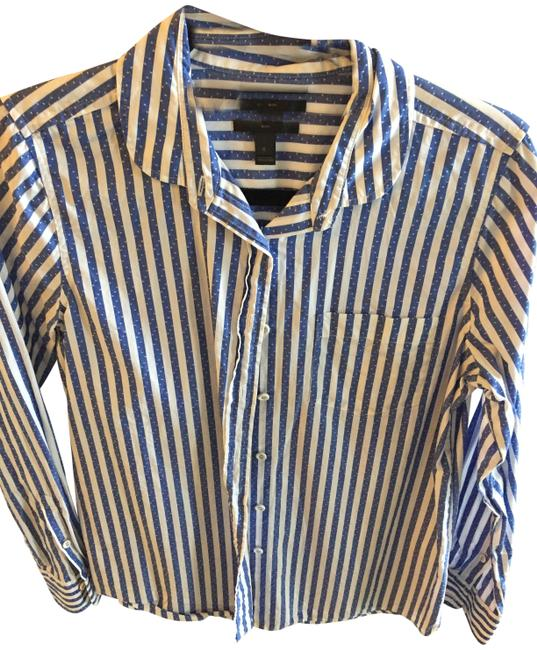 Preload https://img-static.tradesy.com/item/23924765/jcrew-blue-and-white-stripped-button-down-top-size-6-s-0-1-650-650.jpg