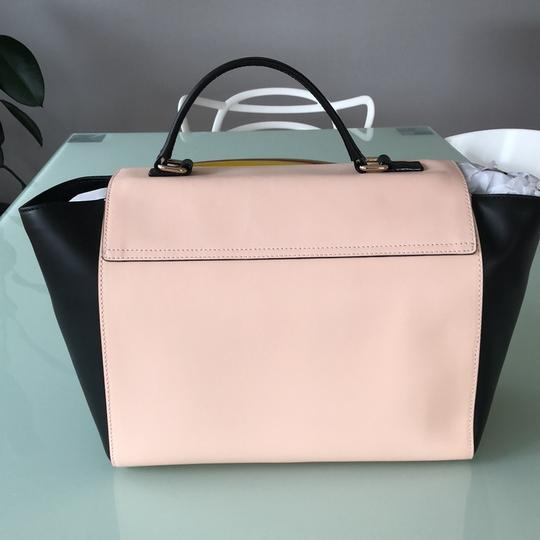Kate Spade Satchel in Black and Pink Image 3