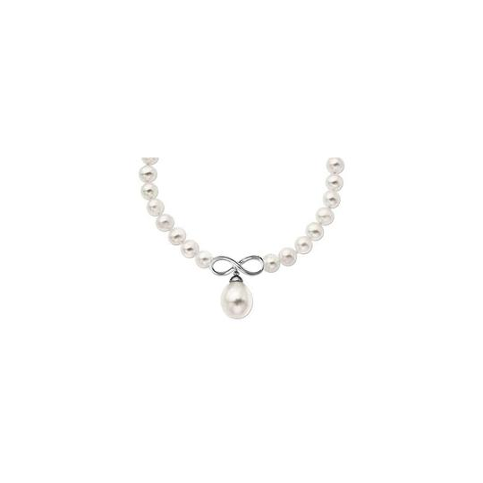 Preload https://img-static.tradesy.com/item/23924895/white-8mm-cultured-freshwater-pearl-drop-infinity-14k-gold-necklace-0-0-540-540.jpg