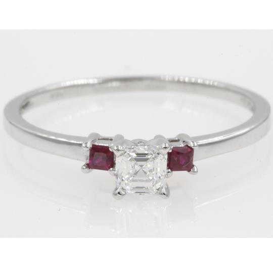 Preload https://img-static.tradesy.com/item/23924924/14k-white-gold-gia-certified-60-carat-asscher-cut-stone-engagement-ring-0-0-540-540.jpg