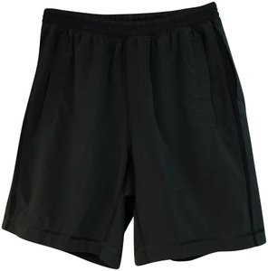 Lululemon LULULEMON MESH TRIM BLACK MEN'S SHORTS S