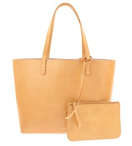 Mansur Gavriel Tan Neutral Tote in Brown