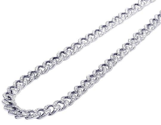 Preload https://img-static.tradesy.com/item/23925510/jewelry-unlimited-10k-white-gold-mens-real-diamond-chain-cuban-choker-9mm-22-necklace-0-1-540-540.jpg