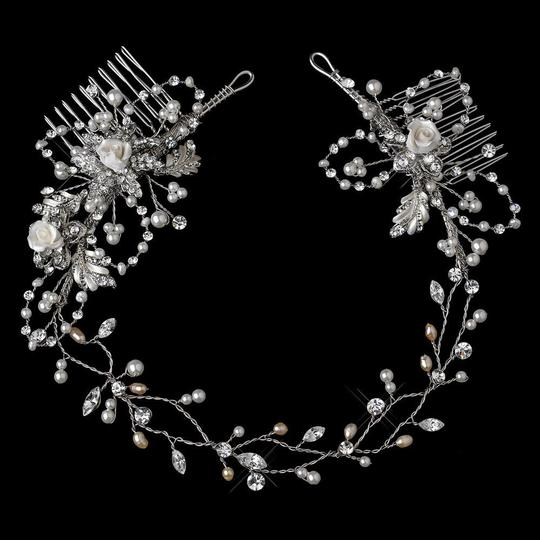 Preload https://img-static.tradesy.com/item/23925539/elegance-by-carbonneau-rhodium-silver-or-gold-vintage-vine-with-side-accents-hair-accessory-0-0-540-540.jpg
