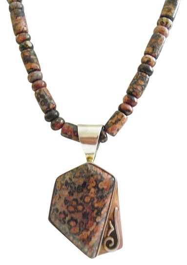 Mine Finds by Jay King Mine Finds By J. King 925 Multicolor Gemstone Pendant