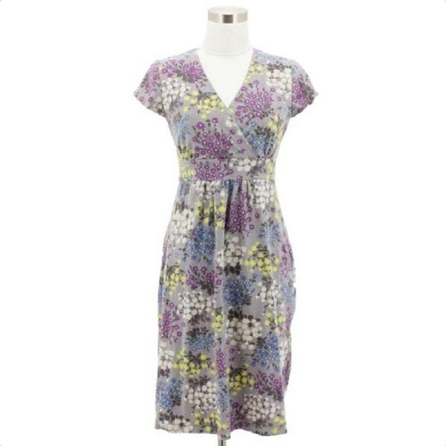 Preload https://img-static.tradesy.com/item/23925601/boden-gray-purple-and-yellow-a27-designer-regular-floral-mid-length-short-casual-dress-size-8-m-0-1-650-650.jpg