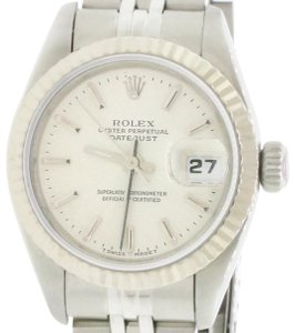 Rolex Ladies Rolex Stainless Steel Datejust Silver 69174