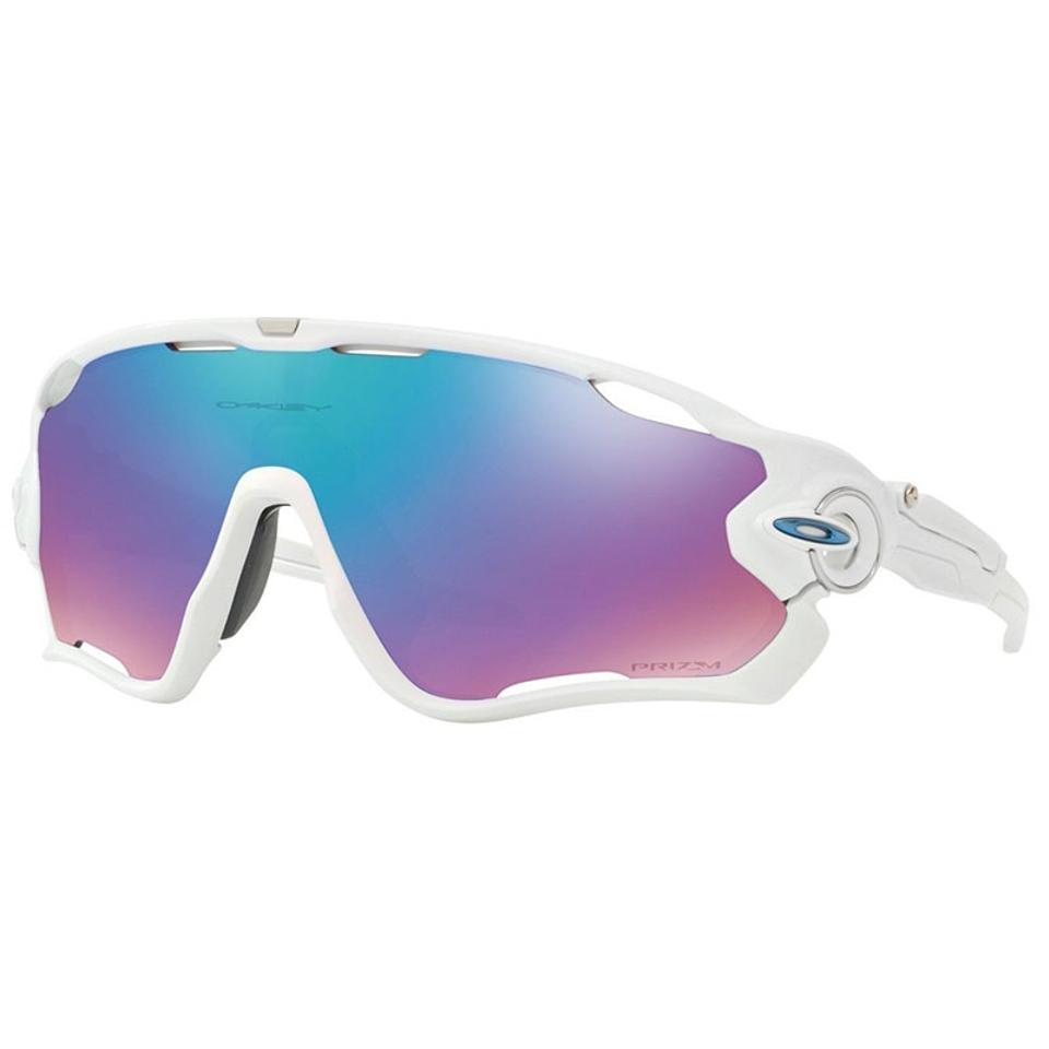 183cd815f78 Oakley White Prizm Snow Sapphire Iridium Jawbreaker Unisex Oo9290 2131  Sunglasses 22% off retail