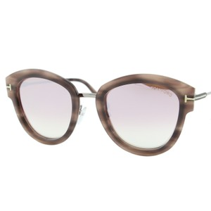 87a0578acc4 Tom Ford New 2018 Mia-02 Ft0574 55Z Women Pantos Cat-eye Mirrored Sunglasses