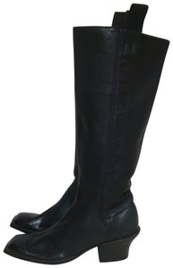 custom made Equestrian Motorcycle Tall Black Boots