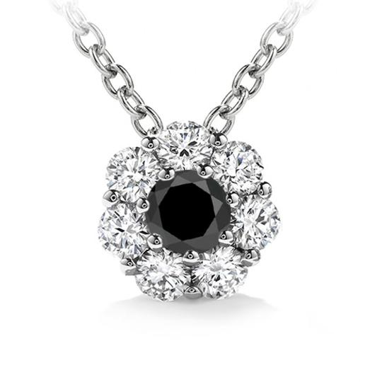 Preload https://img-static.tradesy.com/item/23925877/white-100-ct-ladies-black-diamond-solitaire-pendant-necklace-0-0-540-540.jpg