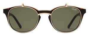 Quay penny royal rectangle sunglasses