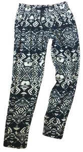 Gypsy05 Straight Pants Multicolored