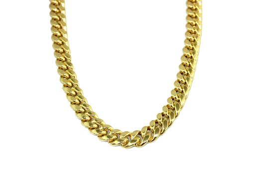 Preload https://img-static.tradesy.com/item/23925981/yellow-gold-14k-miami-cuban-chain-necklace-0-0-540-540.jpg