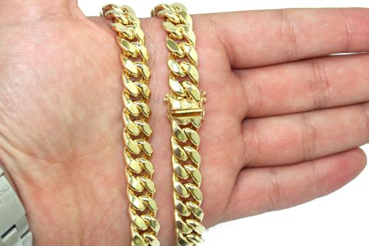 Other 14K Miami Cuban Chain Image 4
