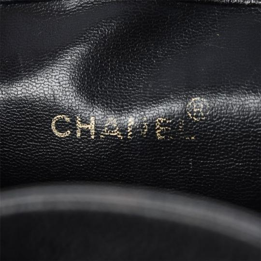 Chanel Vintage Caviar Triple Cc Backpack Image 8