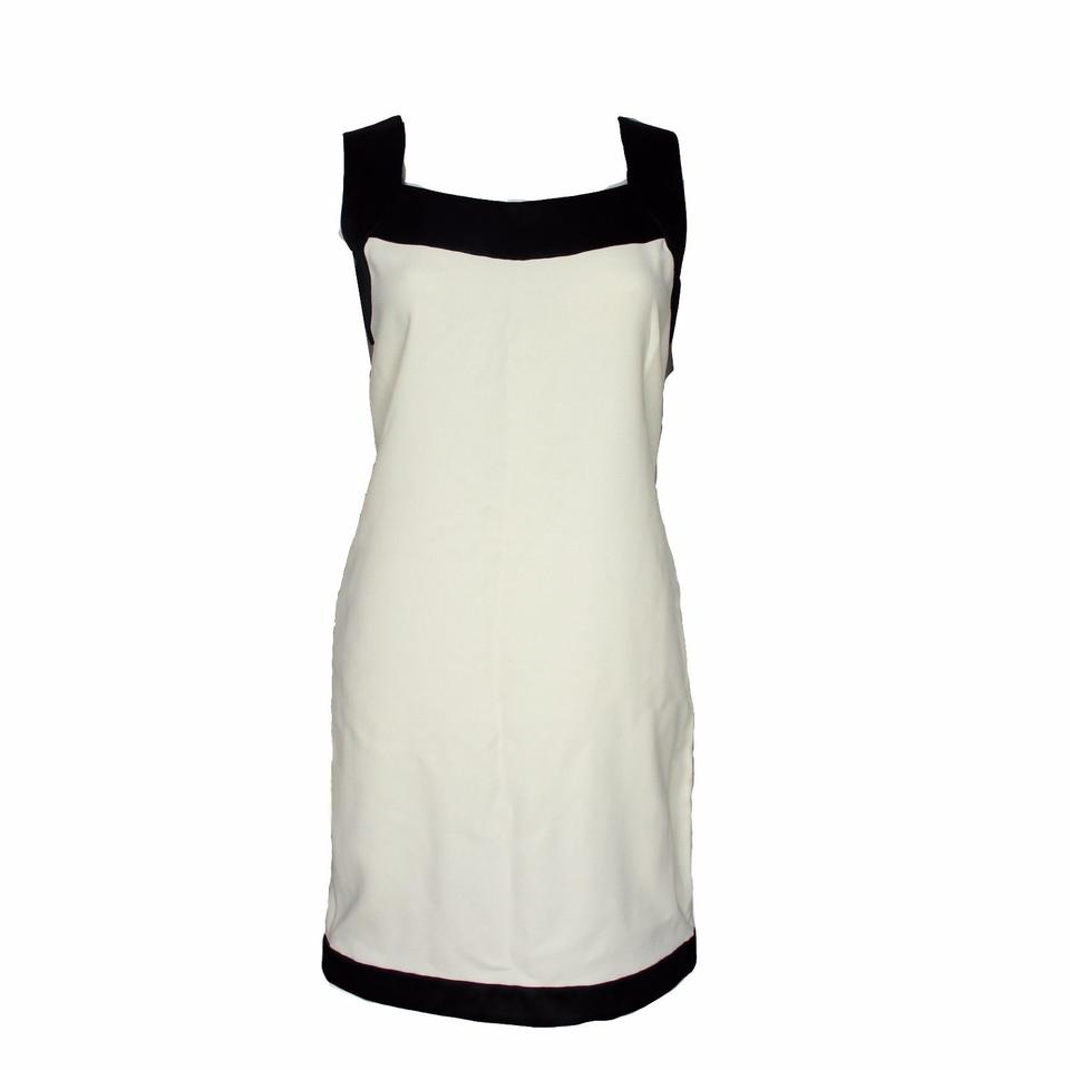 aae19a49b2 Tom Ford White Black New with Tags Tunic Mid-length Cocktail Dress ...