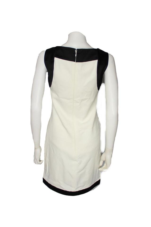f1a1c6becd Tom Ford White Black New with Tags Tunic Mid-length Cocktail Dress Size 4  (S) - Tradesy