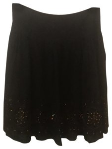 Candy Rain Sequins Full M/L Skirt black and copper